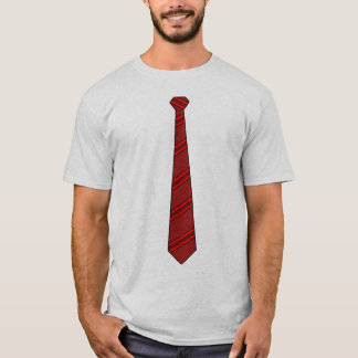 Red Necktie Shirt