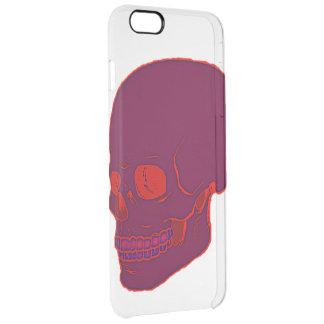 Red Neon skull Case