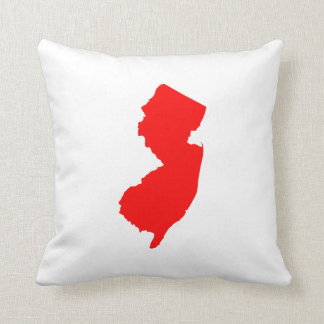 Red New Jersey Cushion