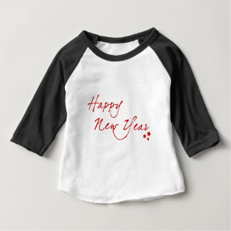Red New-Year #2 Baby T-Shirt