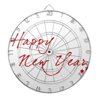 Red New-Year #2 Dartboard