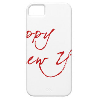 Red New-Year #2 iPhone 5 Case