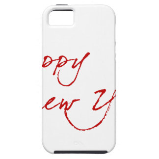 Red New-Year #2 iPhone 5 Cases
