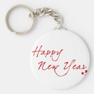 Red New-Year #2 Key Ring