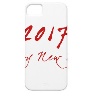 Red New-Year Barely There iPhone 5 Case