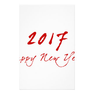Red New-Year Stationery