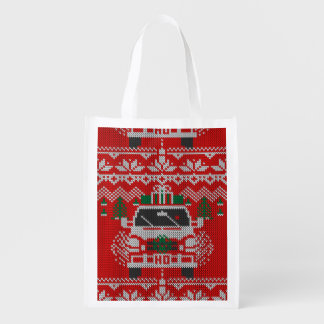 Red Nose Holiday Driver Ugly Sweater Style