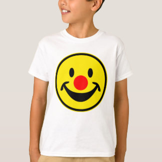 Red Nose Smiley - yellow + your ideas T-Shirt