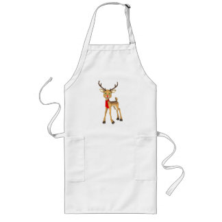 Red Nosed Reindeer Holiday Apron
