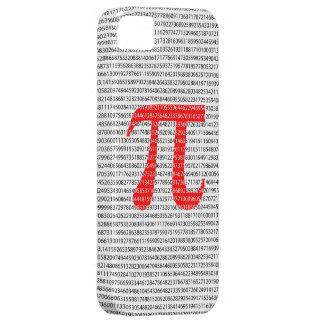 Red Number pi is a mathematical constant symbol Barely There iPhone 5 Case