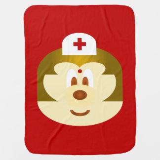 Red Nurse 鲍 鲍 Baby Blanket