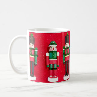 Red Nutcracker Christmas Cup