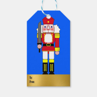 Red Nutcracker Gift Tags