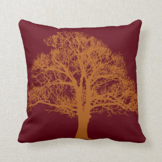 Red Oak Tree American Mojo Pillow