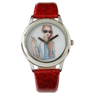 Red Obsessed Watches