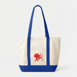 Red Octopus Bags