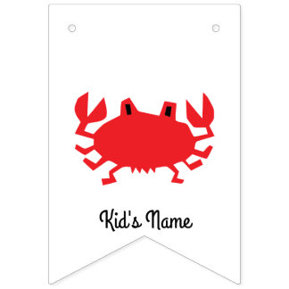 Red of sea crab bunting