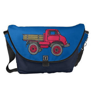 Red off-road Truck Commuter Bag