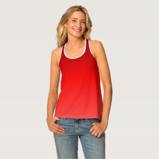 Red Ombre Singlet