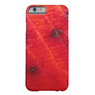 Red on Dark Red Camouflage Barely There iPhone 6 Case