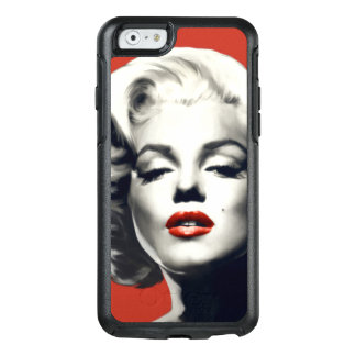 Red on Red Lips Marilyn OtterBox iPhone 6/6s Case