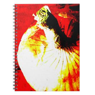 Red Onion Garden Notebook