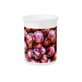Red Onion Pitcher