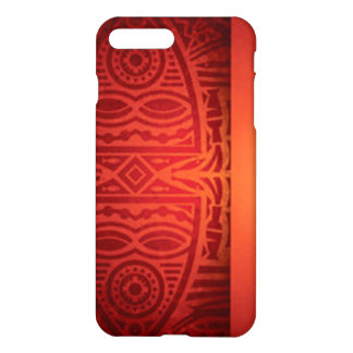 Red & Orange African Pattern Design iPhone 8 Plus/7 Plus Case