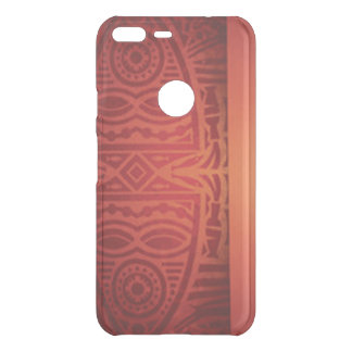 Red & Orange African Pattern Design Uncommon Google Pixel XL Case