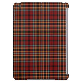 Red Orange Black Blue Tartan Plaid Case For iPad Air