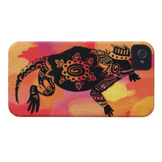 Red & Orange Horned Frog Case-Mate iPhone 4 Case
