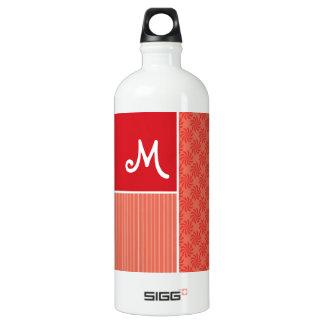 Red & Orange Swirls; Swirl SIGG Traveller 1.0L Water Bottle