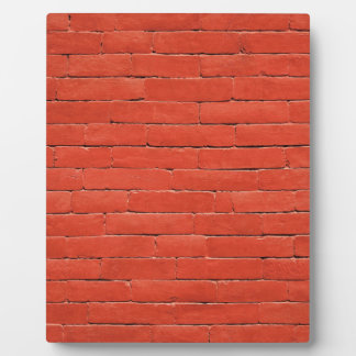 Red Orange Wall Plaques
