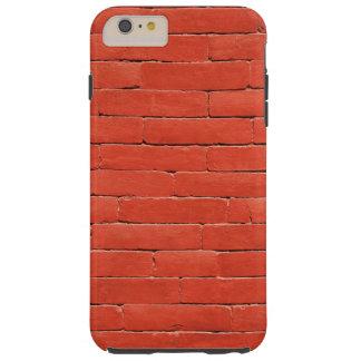 Red Orange Wall Tough iPhone 6 Plus Case