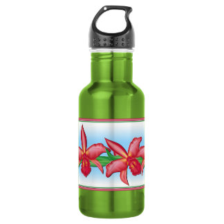 Red Orchid 532 Ml Water Bottle