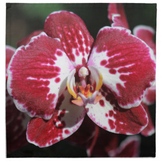 Red Orchid Napkin