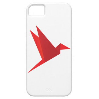 Red Origami Bird iPhone 5 Cover