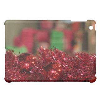 Red Ornaments iPad Mini Cover