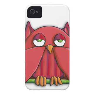 Red Owl BlackBerry Bold 9700/9780 Barely There™ iPhone 4 Case