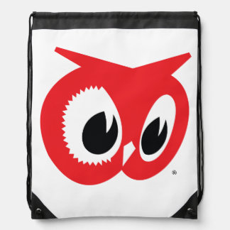 Red Owl Grocery Store Drawstring Backpack