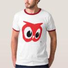 Red Owl T-Shirt - Vintage Ringer Style
