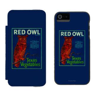 Red Owl Vegetable Label Incipio Watson™ iPhone 5 Wallet Case