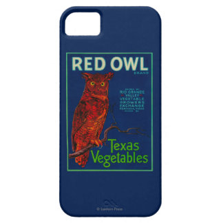 Red Owl Vegetable Label iPhone 5 Case