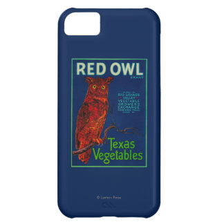 Red Owl Vegetable Label iPhone 5C Case
