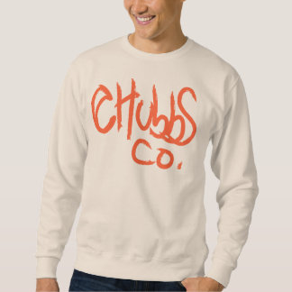 red paint chubbs&co. sweatshirt
