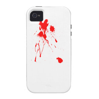 Red paint splatter case for the iPhone 4