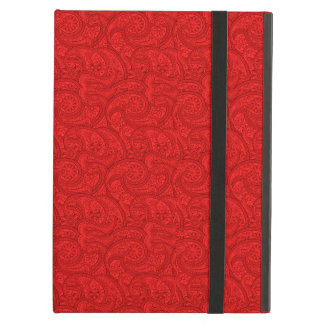 Red Paisley iPad Air Case