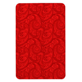 Red Paisley Magnet