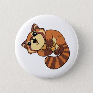 Red Panda! 6 Cm Round Badge