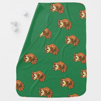 Red Panda! Baby Blanket